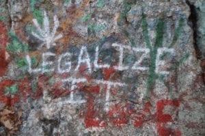 Marijuana Graffiti