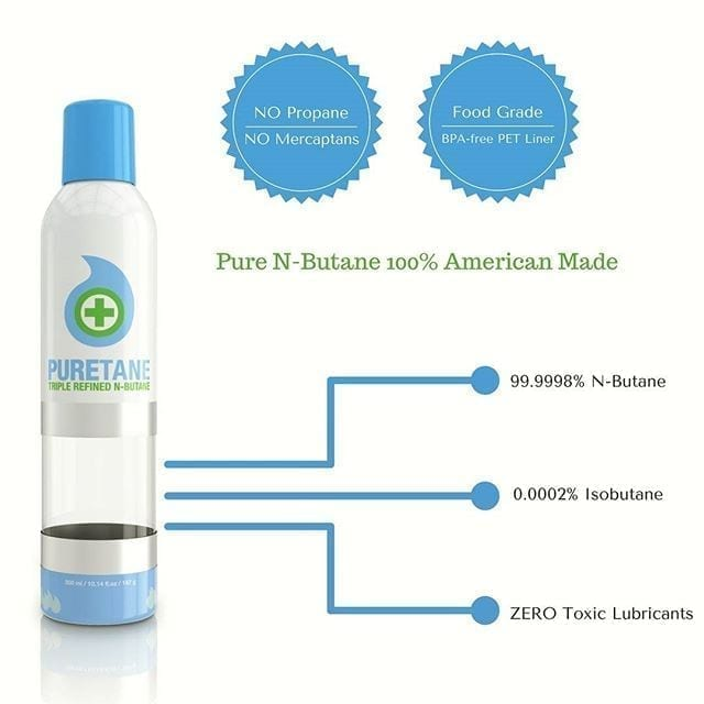 American made Puretane for BHO wax