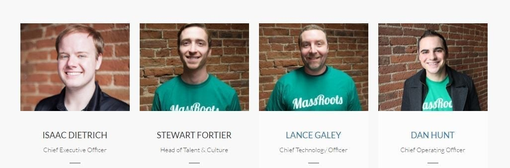 MassRoots Team Profiles