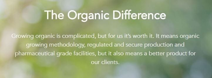 The OrganiGram Organic Statement