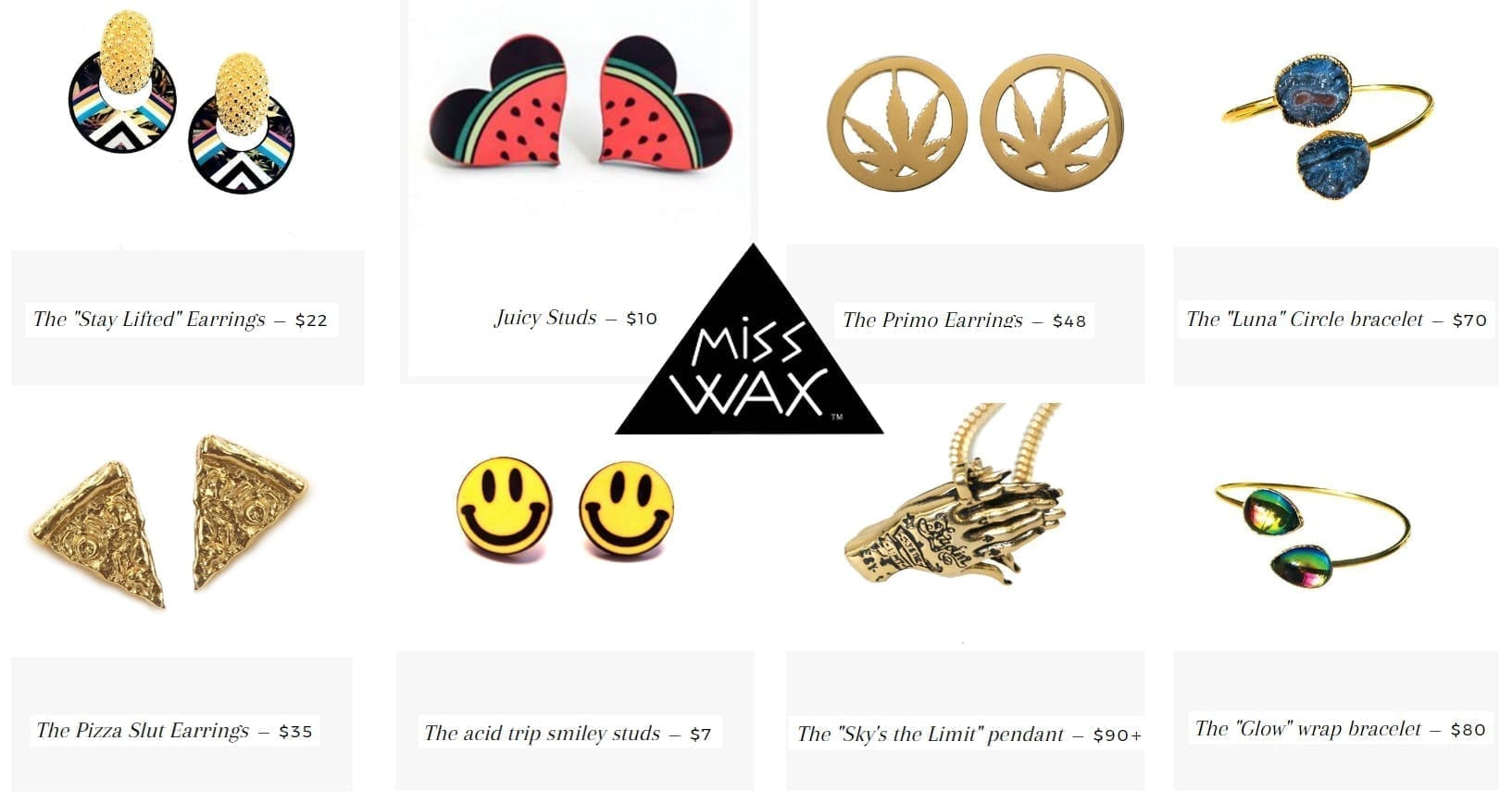 stoner fashion jewelry