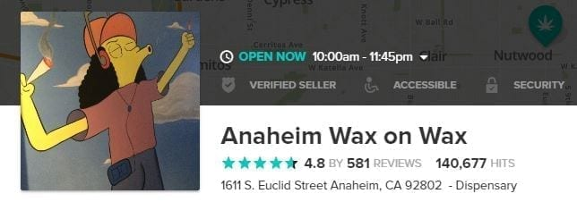 Wax Dispensaries
