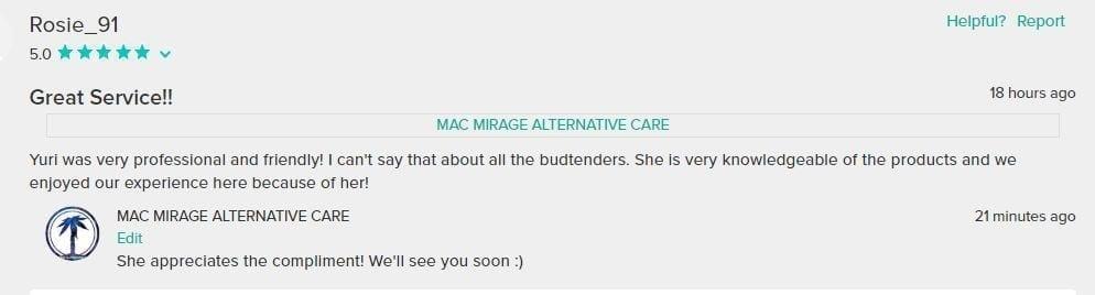 Satisfied Mac Mirage Customer Review