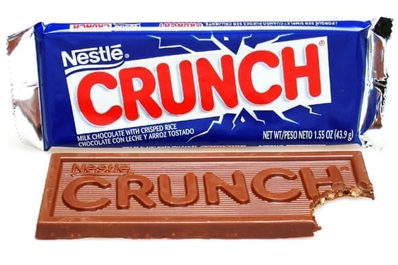 Similar tasting 'Crunch bar'