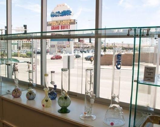glass products at Nevada Made Marijuana