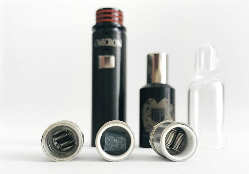 Omicron V5 atomizers