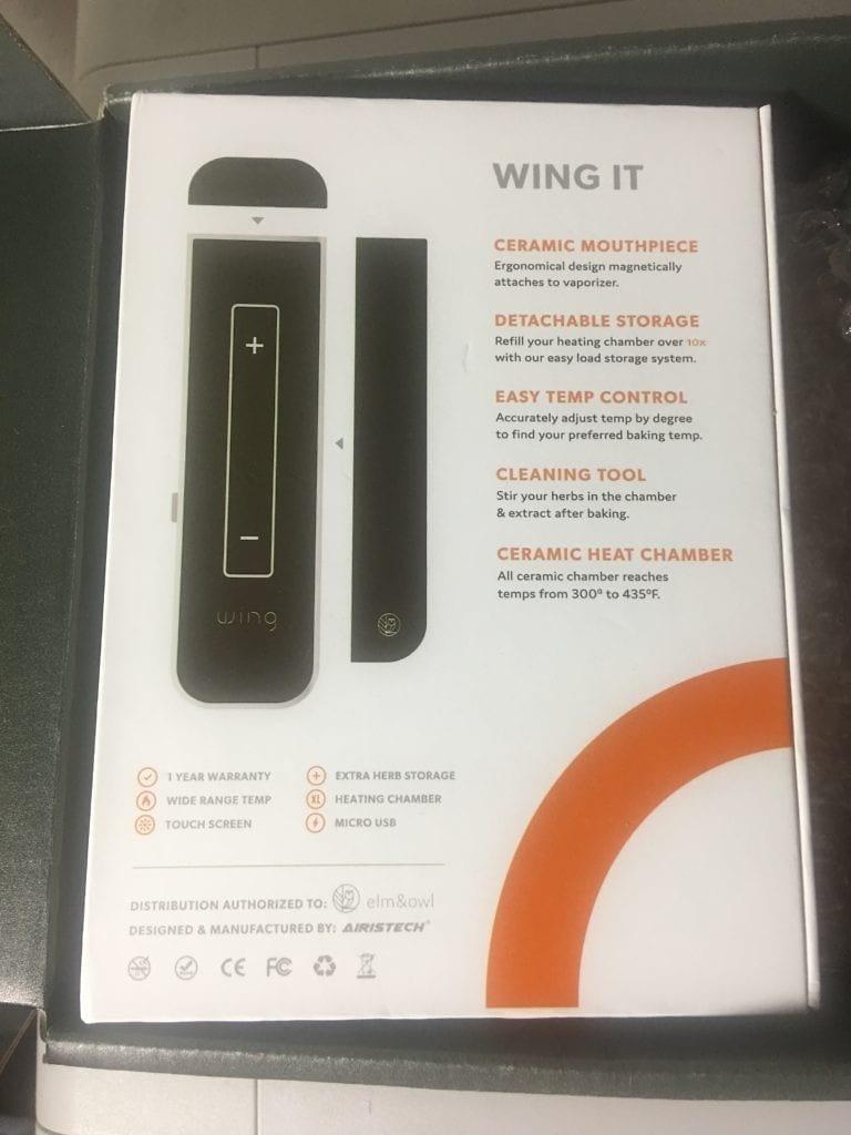 Wing Vaporizer Box