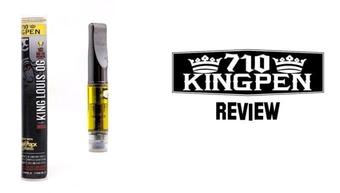 710 kingpen cartridge review