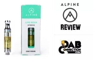alpine vapor cartridge review