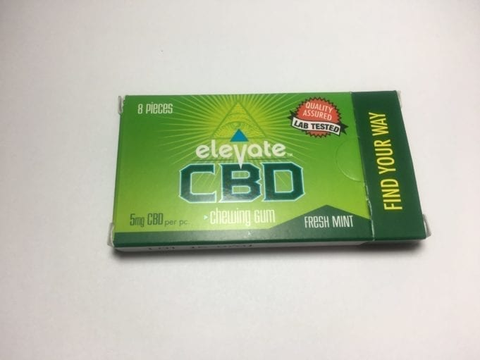 elevate CBD gum review