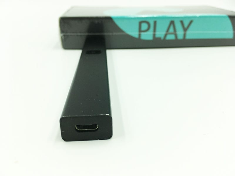 Plug and play vape pen usb connection