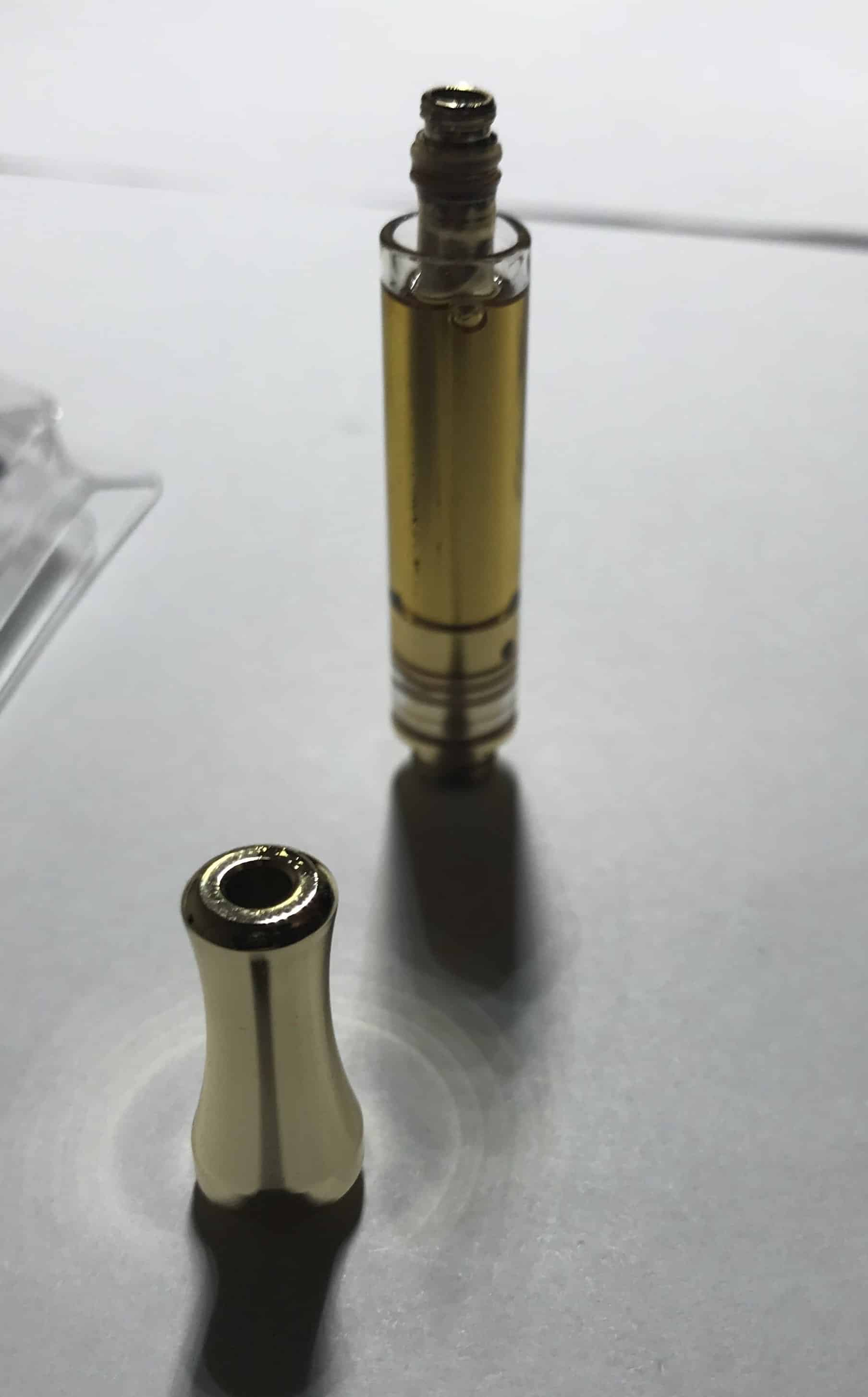 This cartridge had a weak atomizer, affecting the quality of hits that you take
