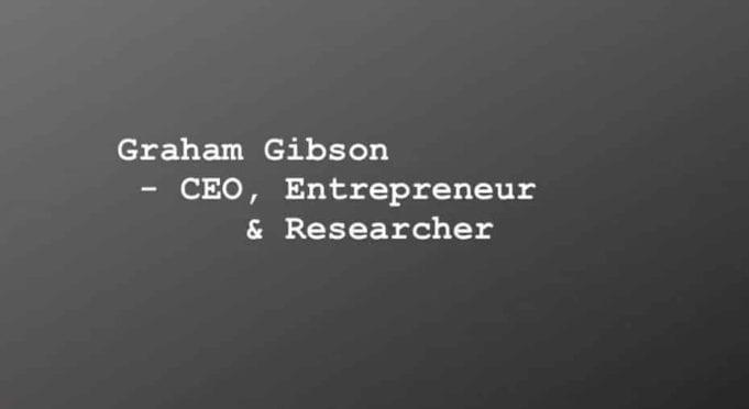 graham gibson ceo kandypens entrepreneur researcher