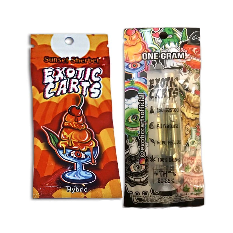 exotic carts packaging