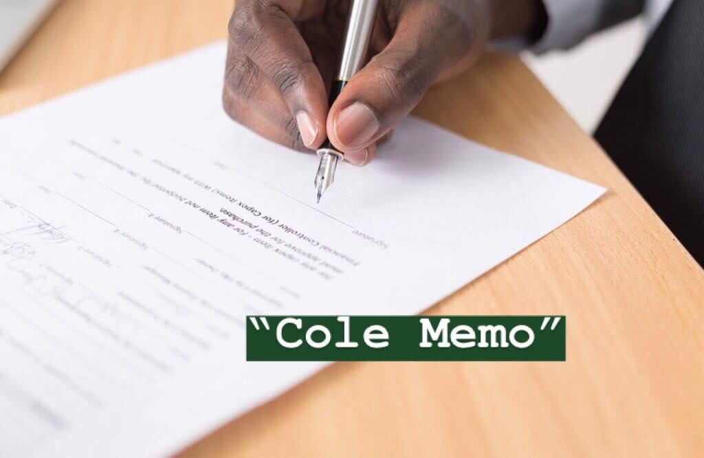 cole memo marijuana federal hands off approach