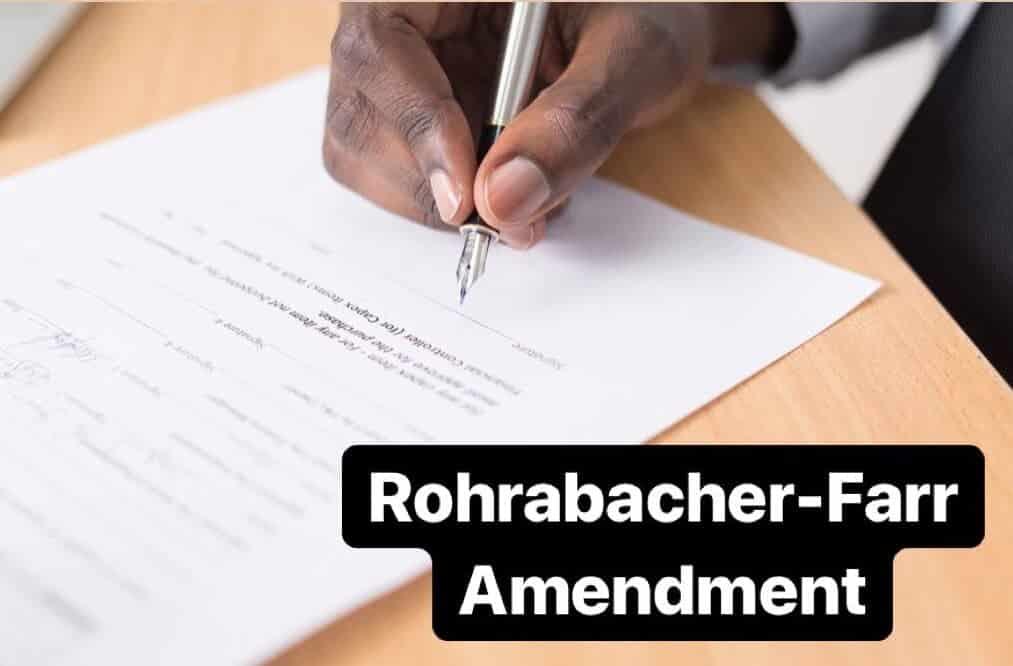 rohrabacher farr emendment barack obama medical marijuana