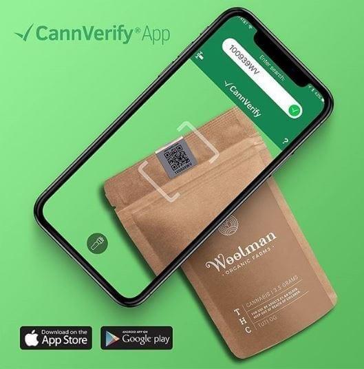 cannverify mobile app qr code scan