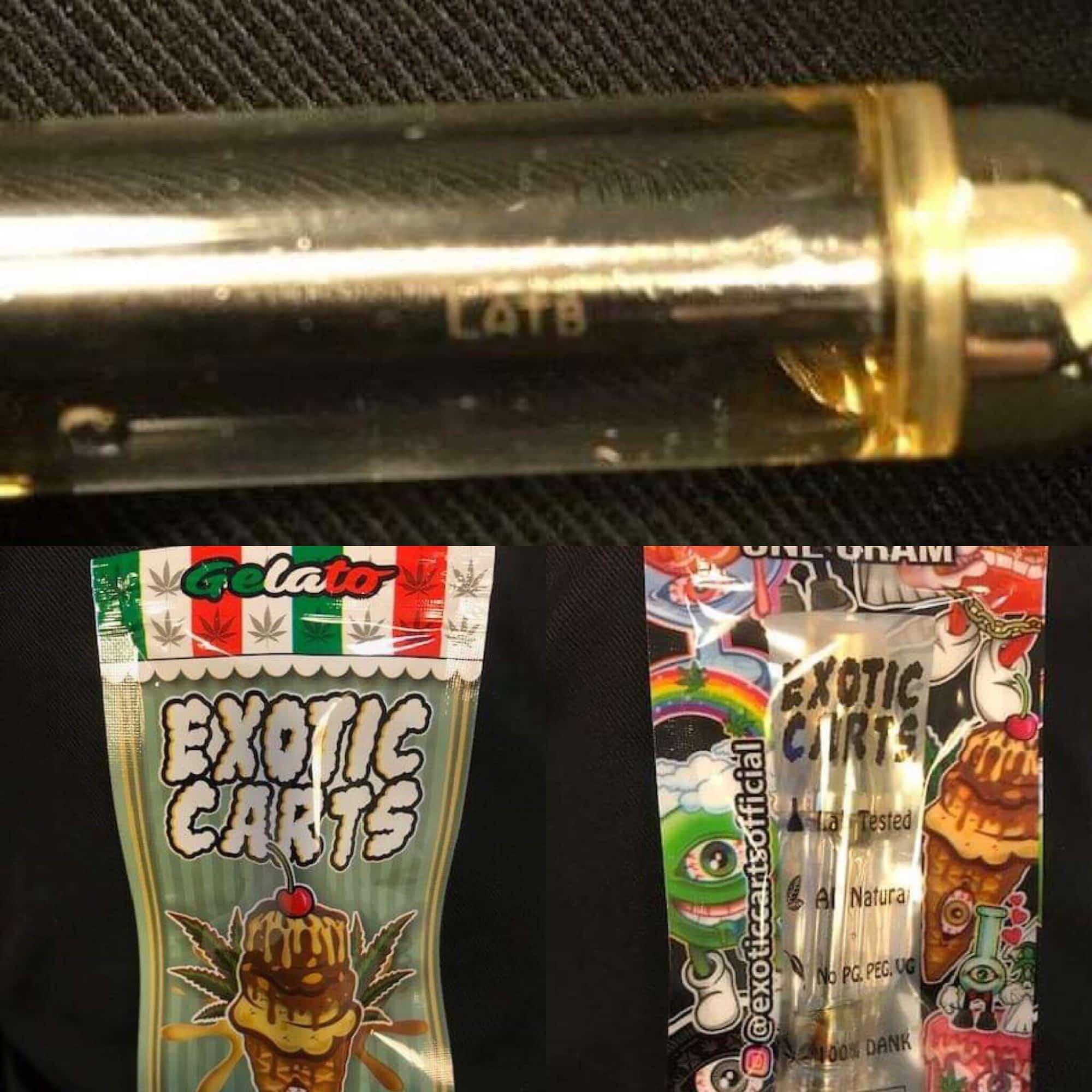 exotic carts gelato hybrid