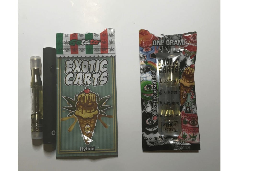 exotic carts gelato flavor