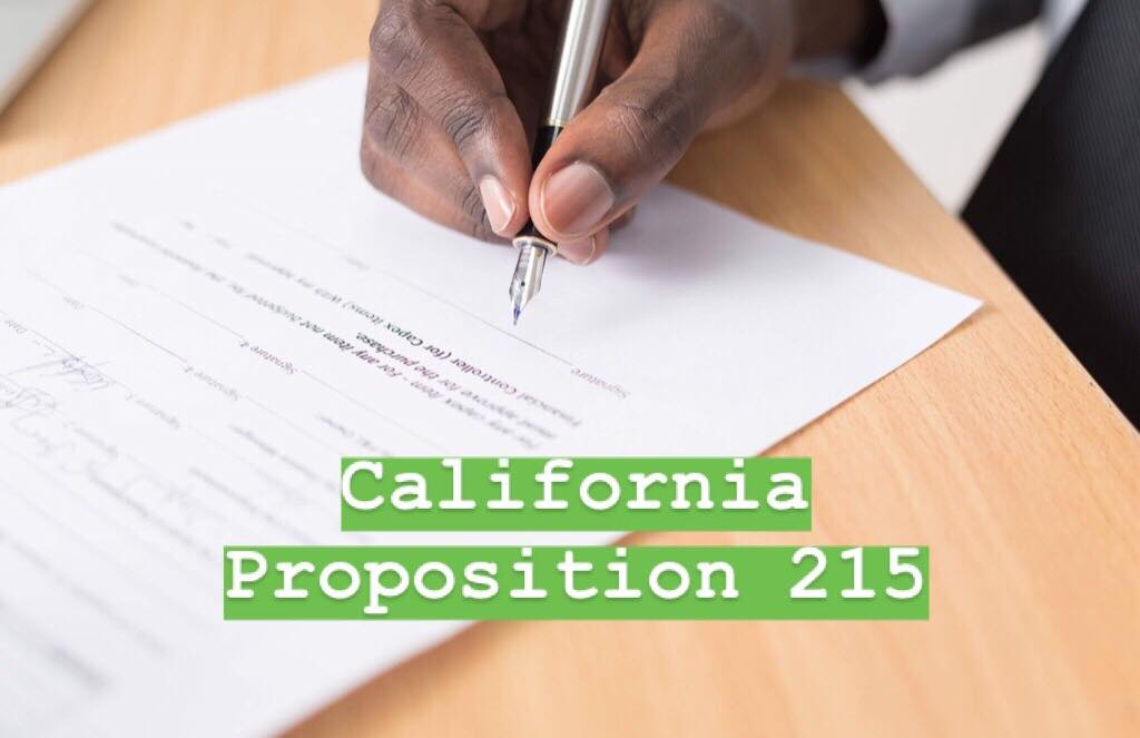 california prop 215 marijuana cannabis