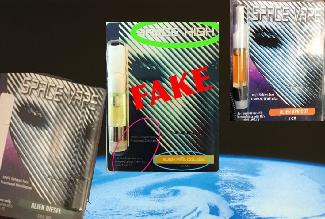 fake space vape