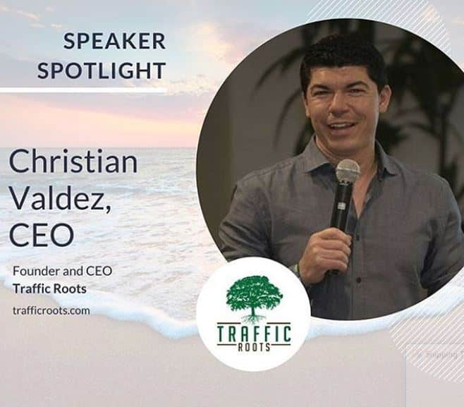 Christian Valdez ceo founder traffic roots