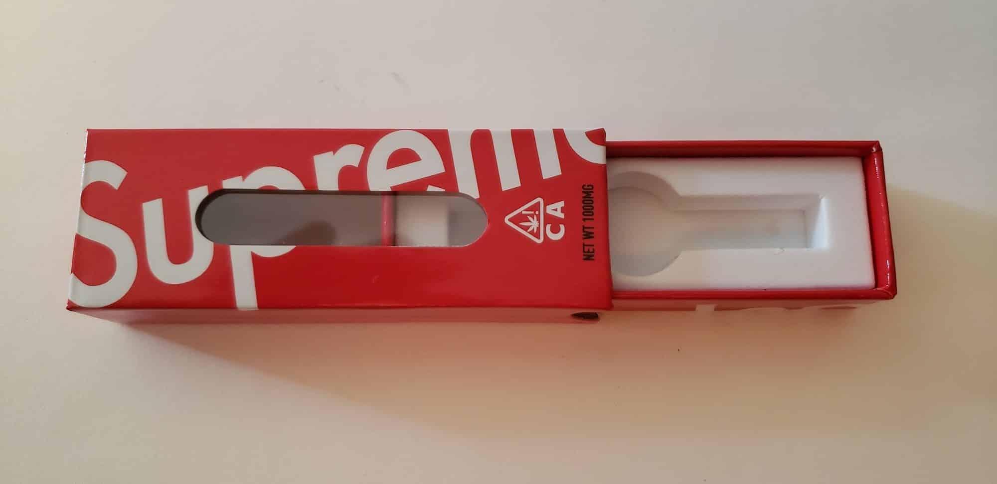 Supreme Vape Cartridge Packaging