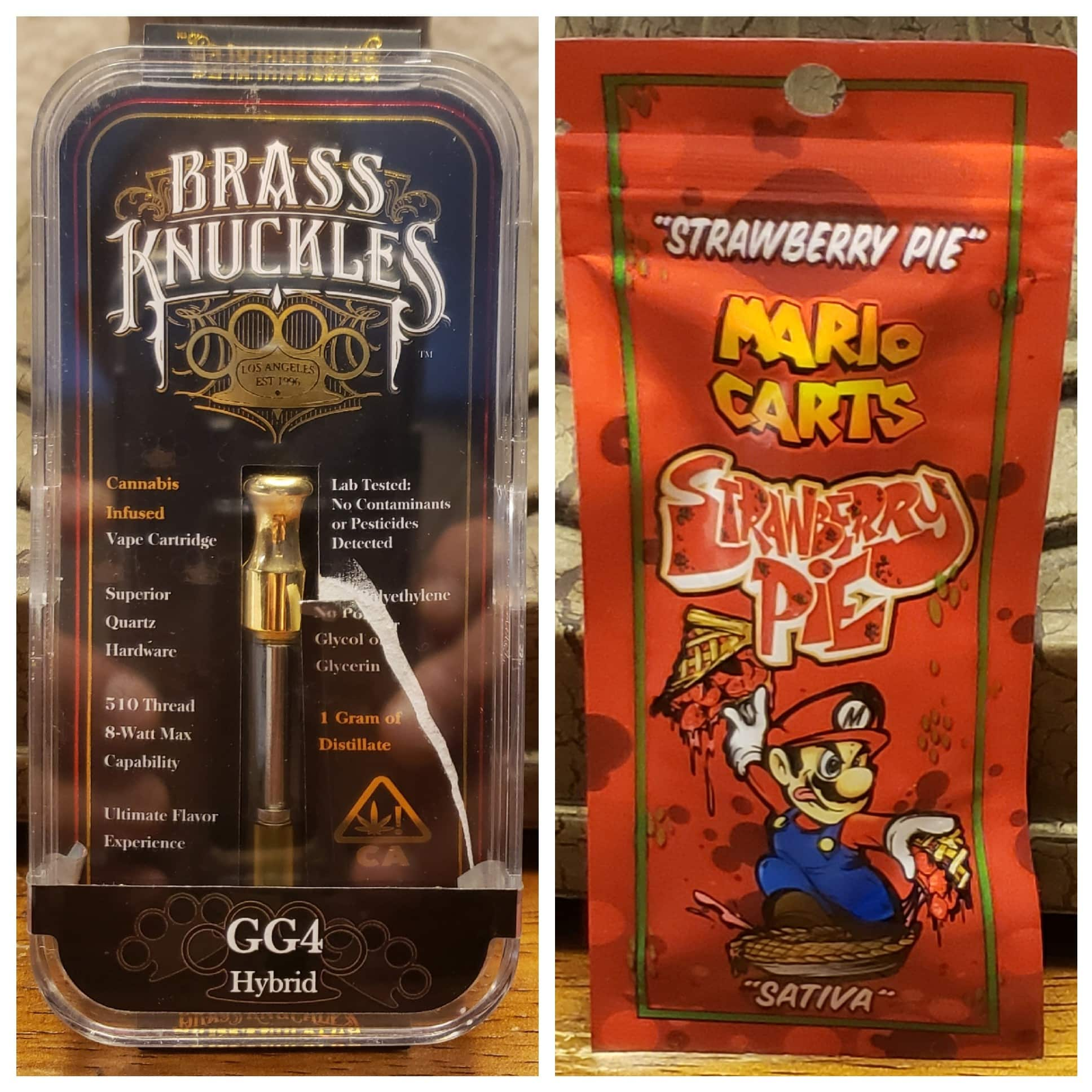 Brass Knuckles vs Mario Carts