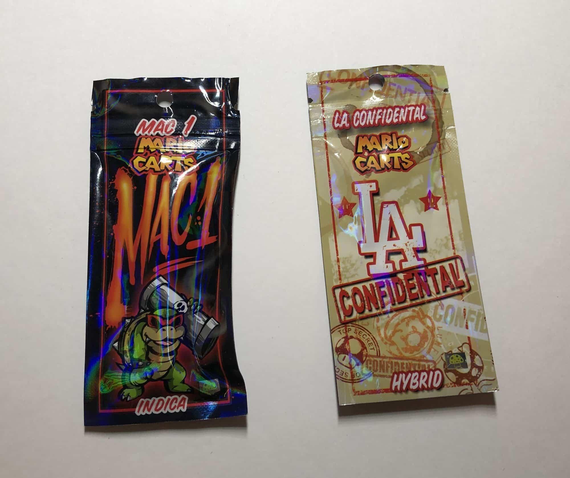 mario carts flavors