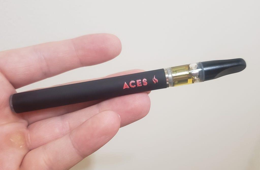 aces extracts vape pen