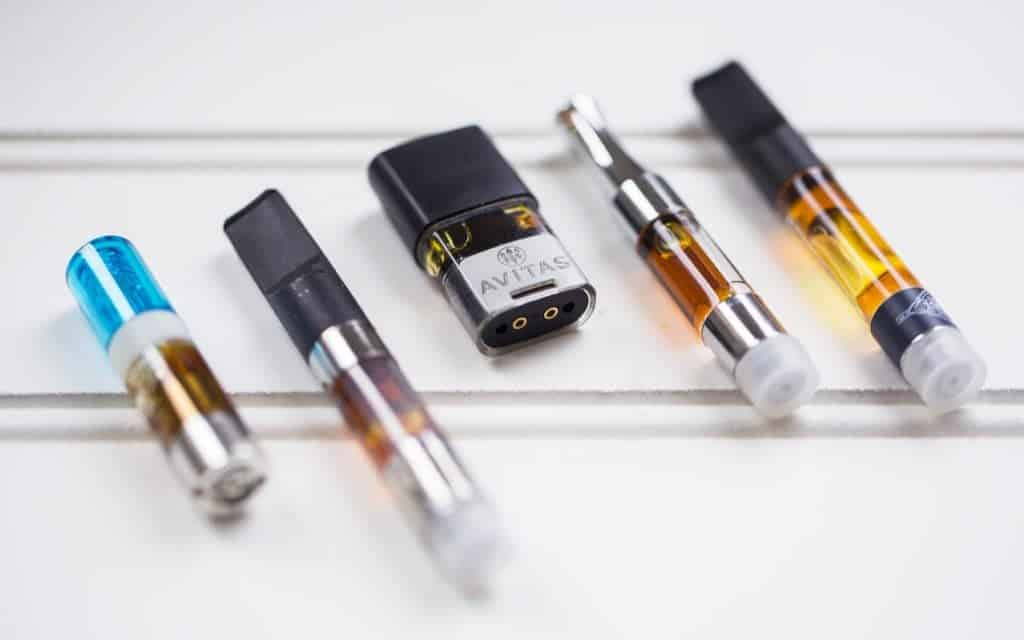 CBD cartridges vaping CBD oil