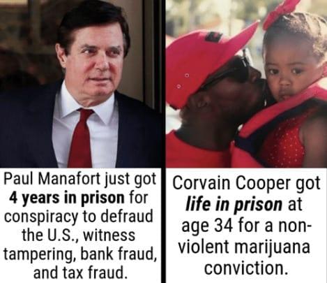 comparison of Corvain Cooper sentence