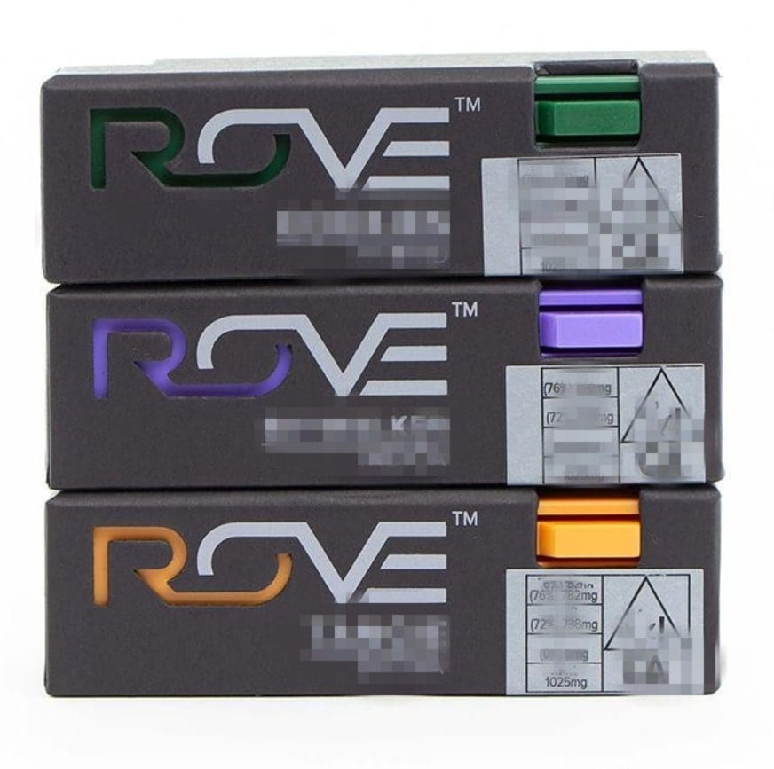 comprison between fake and real rove cartridge