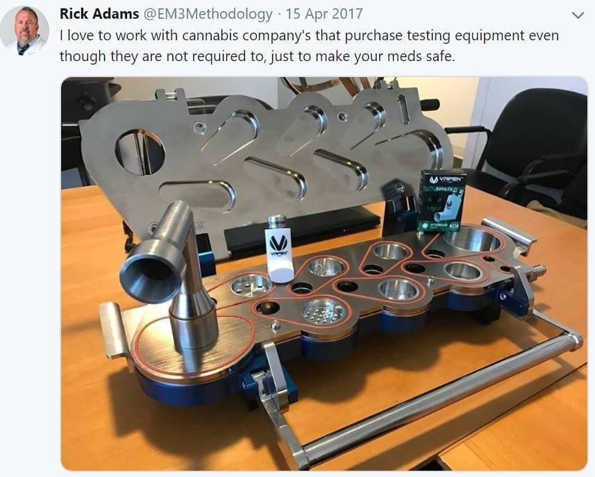NGI testing equipment