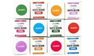 cbdMD Bath Bombs Variety