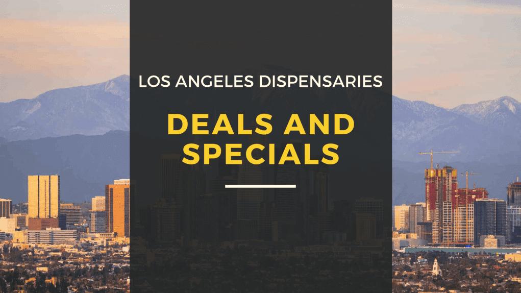 Los Angeles Dispensary Deals