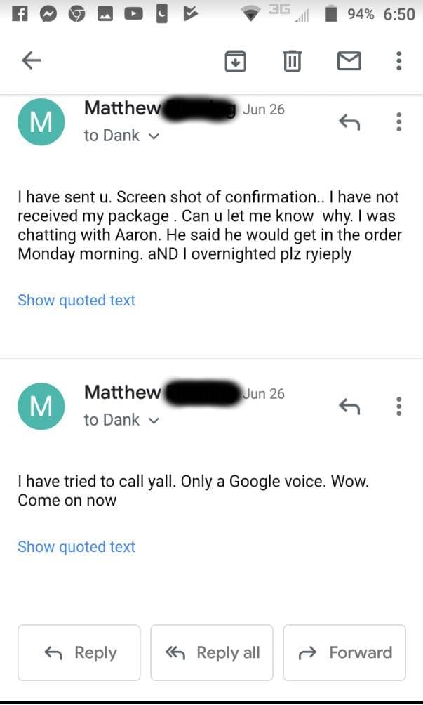 dank vapes scam