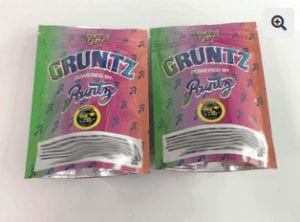 Gruntz, the fake brand sequel to Runtz