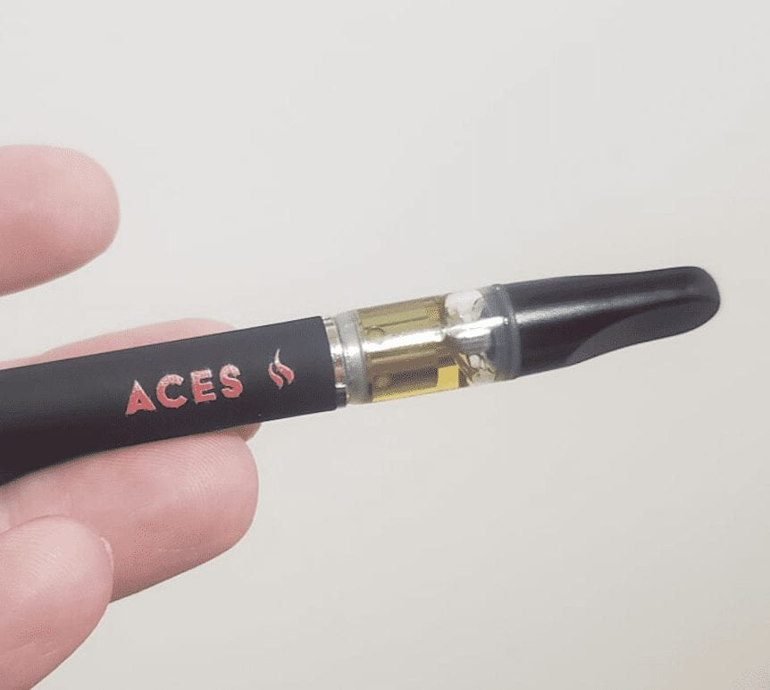 Aces Extracts vape pen oil