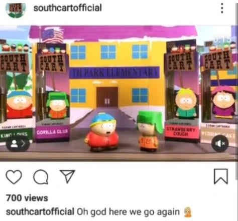 South Cart Instagram