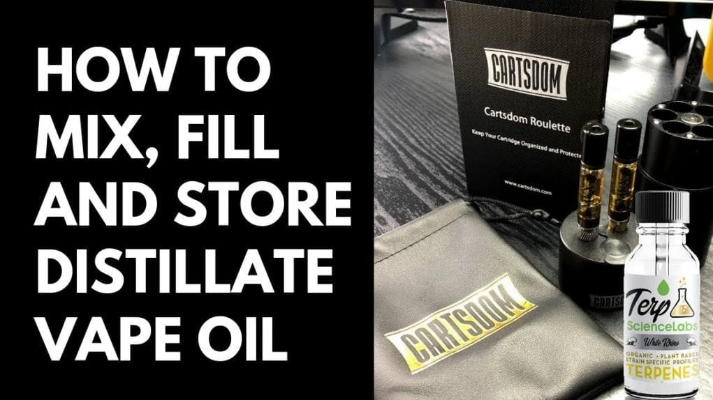 mix fill and store vape oil