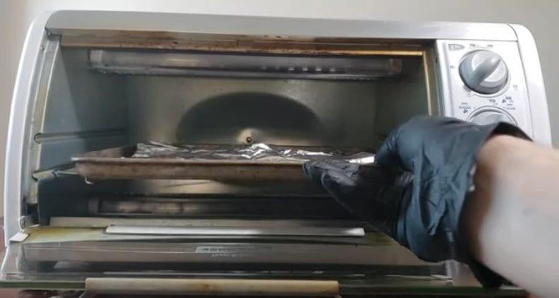 decarbing marijuana flowers in toaster oven
