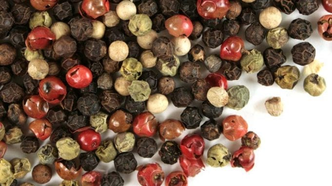 peppers and cloves are also sources of caryophyllene