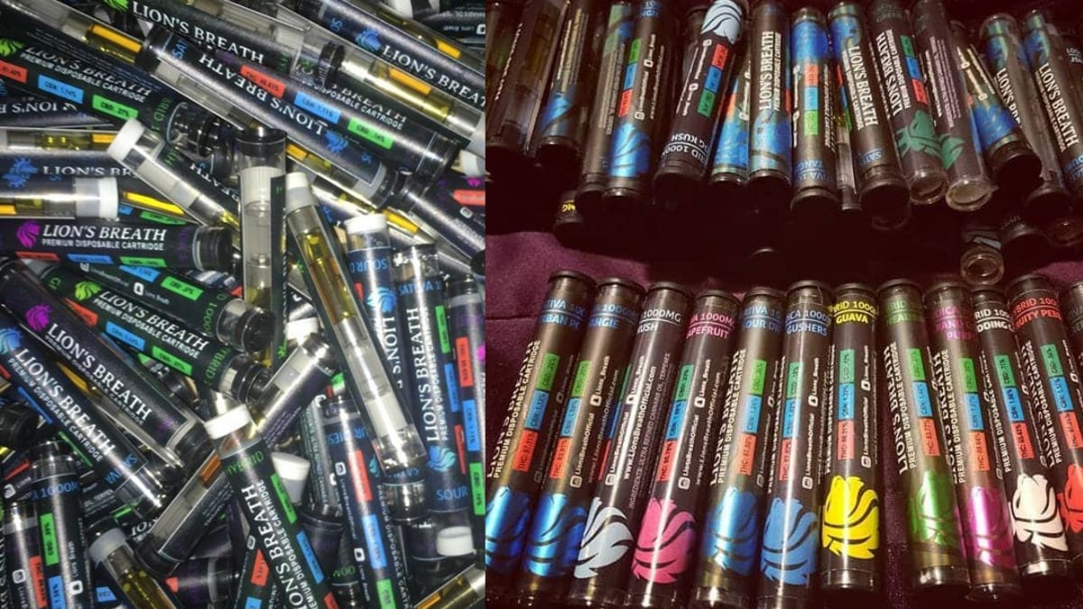 Lion's Breath Cartridges Appear To Be A Street Brand - DabConnection