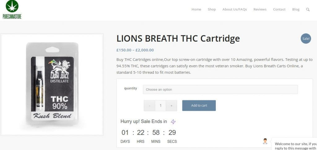 Lion's Breath retail