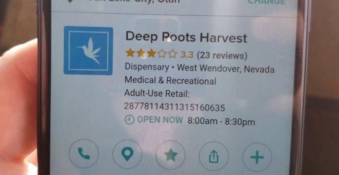 Deep Roots Harvest West Wendover in Weedmaps