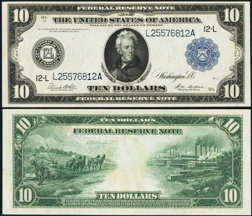 $10 hemp note