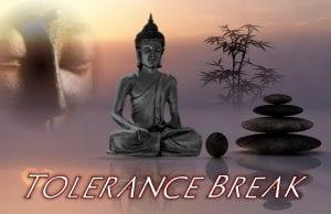 tolerance break : mind over matter
