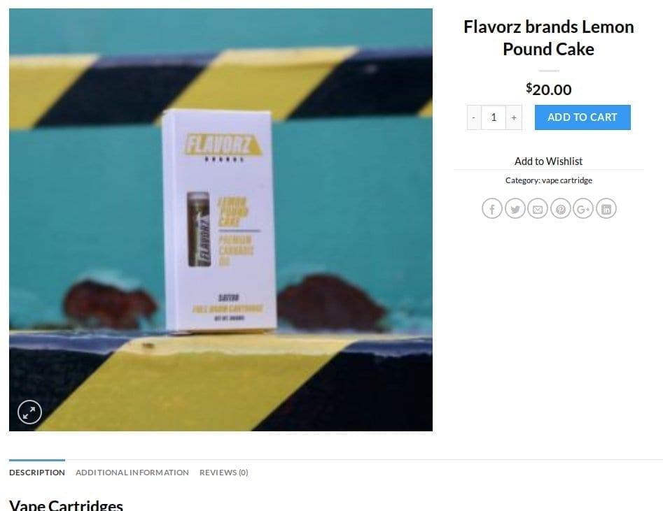 Flavorz black market online
