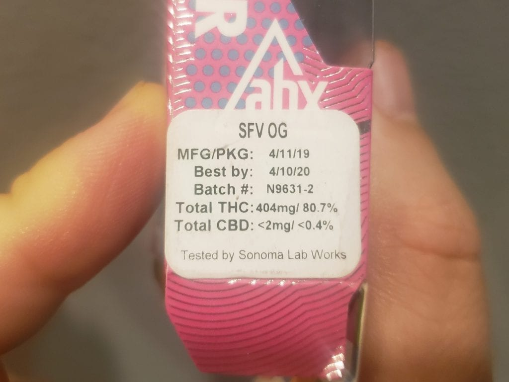 absolutextracts sfv og strength test results